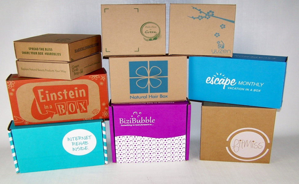 Retailers subscription boxes